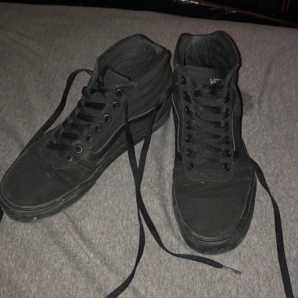 Vans Shoes - Black vans